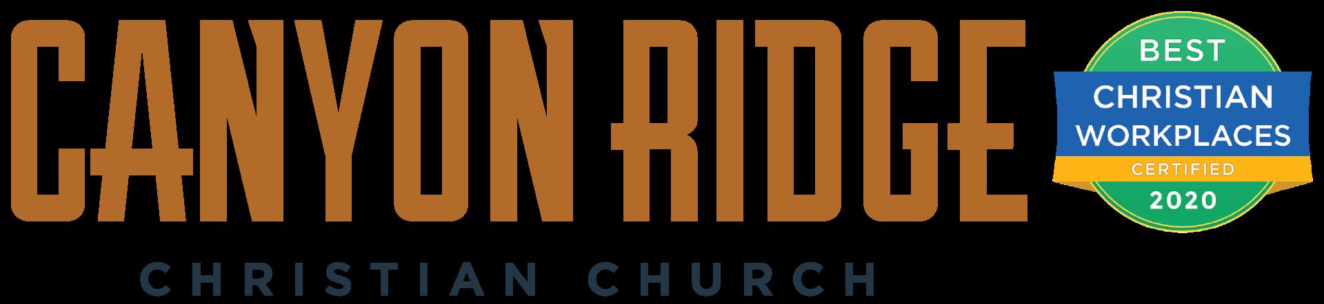 Canyon Ridge Christian Church Inc - Job Opportunities